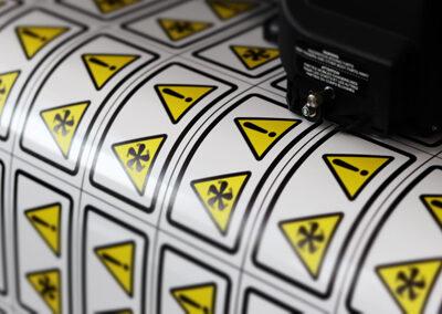 Stickers en Magneetfolie